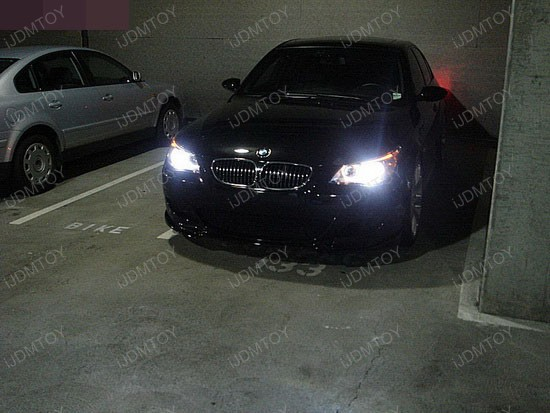 BMW - 530i - 6000K - HID - headlights - 2